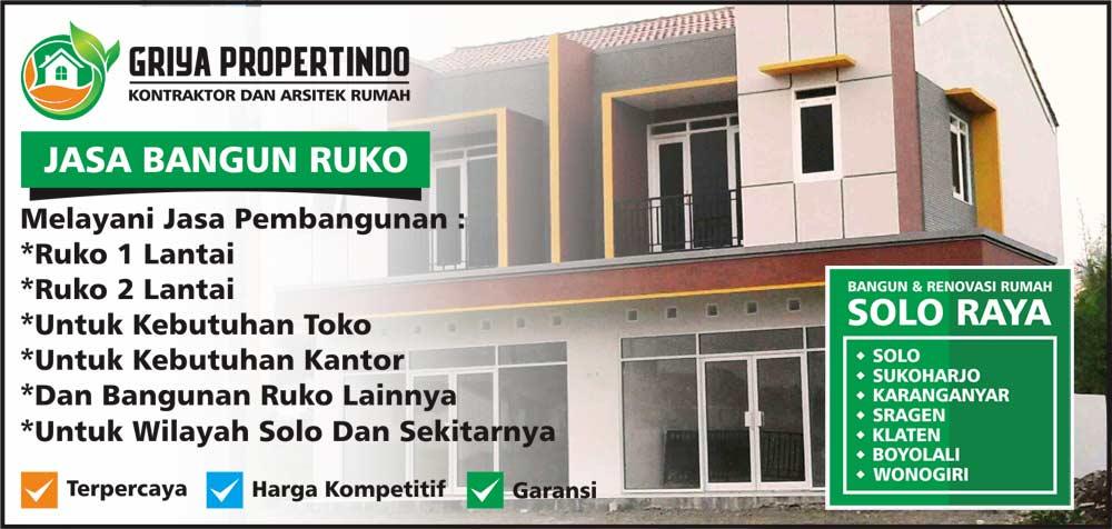 Jasa Bangun serta Renovasi Ruko atau Kantor di Kota Solo