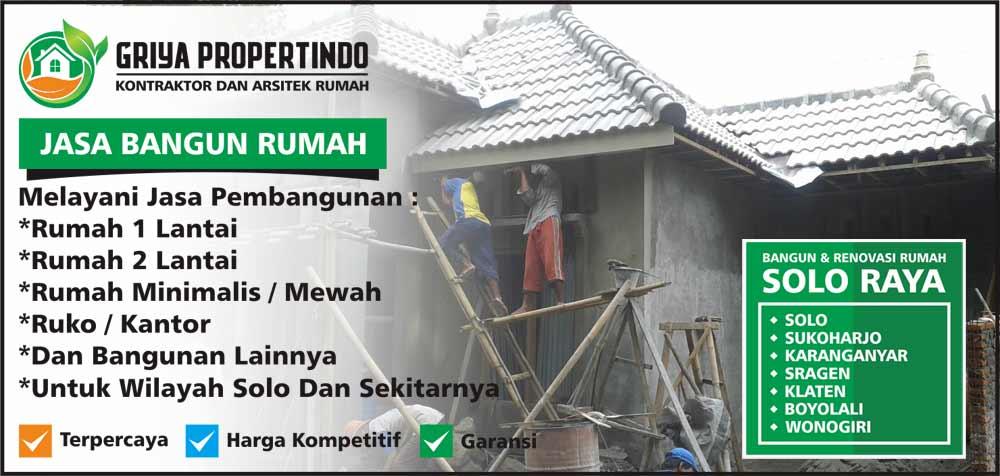 Jasa Borongan Bangun Rumah per Meter di Solo Surakarta