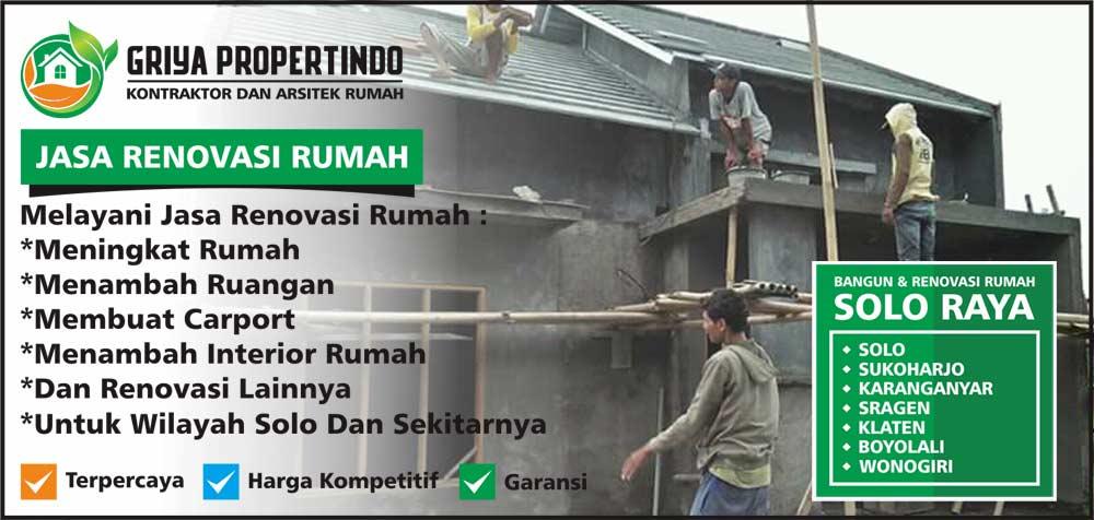 Jasa Tukang Bangunan Rumah di Solo Surakarta