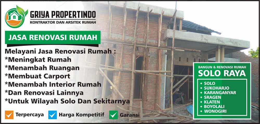 Rehab & Renovasi Rumah Lama di Kota Solo