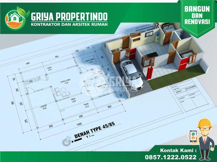 jasa kontraktor Bangunan Rumah Minimalis di solo