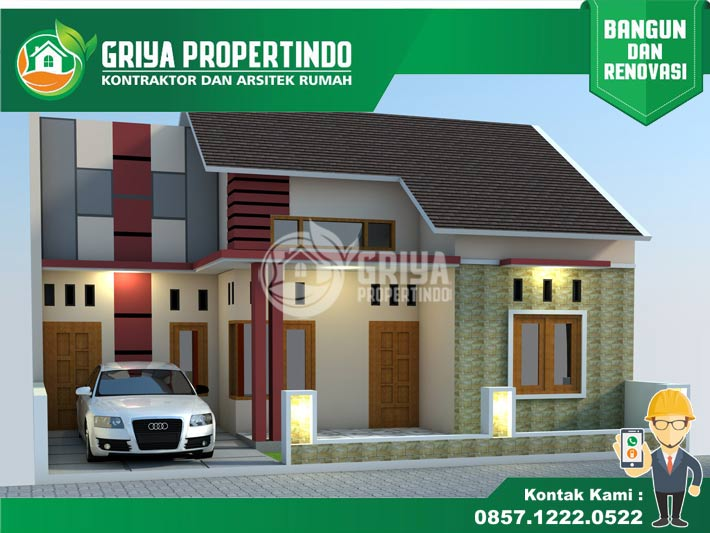 model desain rumah minimalis terbaru di solo