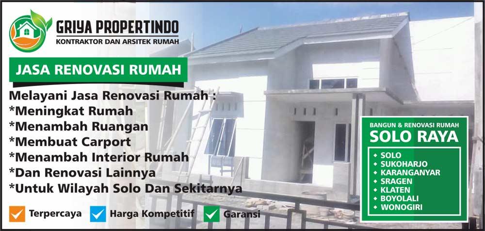 renovasi Rumah Minimalis di Kota Solo