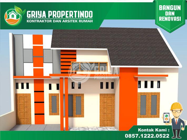 Design Rumah Sederhana di Kota Solo