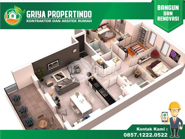 Jasa Interior Rumah di Solo & Pelaksanaan Bangun Renovasi Rumah