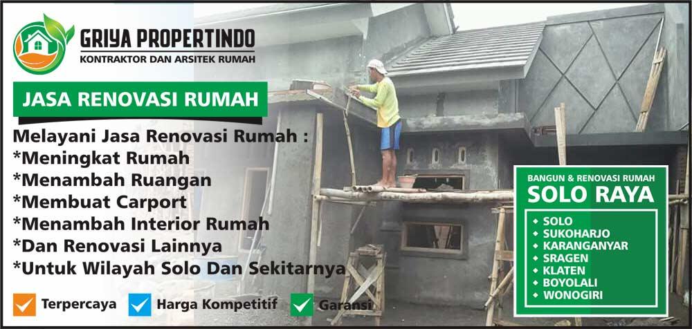 Jasa Perbaikan Rumah Terbaik di Kota Solo