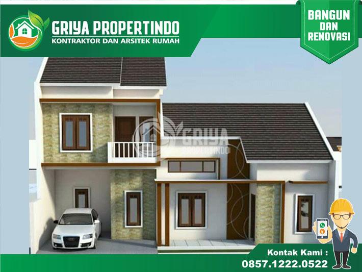 desain rumah minimalis 2 lantai di solo