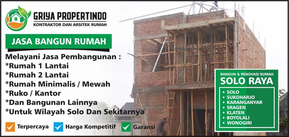 jasa Bangun Rumah 2 Lantai di Wilayah Solo Surakarta