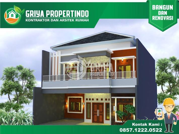 jasa desain Rumah 2 Lantai di Wilayah Solo Surakarta