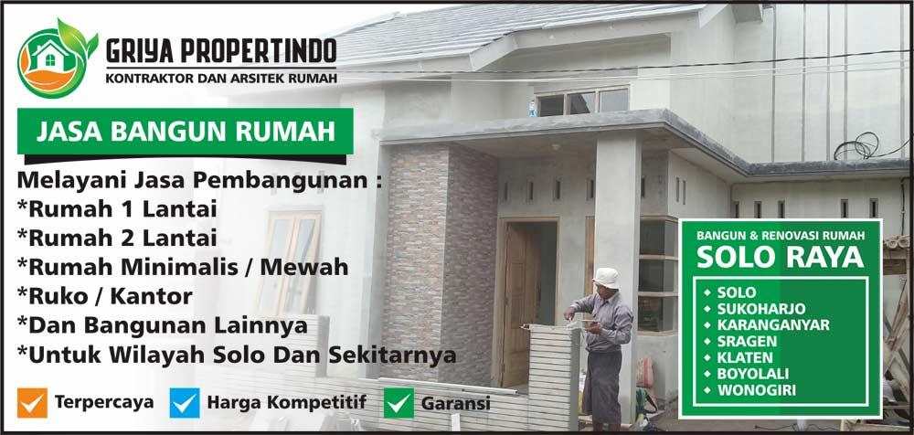 kontraktor pemborong jasa bangun rumah di solo